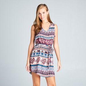 ReneeC. Women's Trendy Sleeveless Midi Dress
